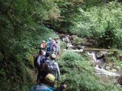 明治の水路と高丸の滝散策
