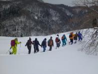 かんじきハイキング~海上滝めぐり~