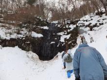 かんじきづくりと鳴滝ハイキング