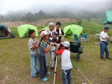 上山高原キャンプ